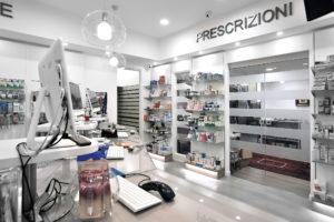 I reparti della Farmacia Strasburgo di Palermo